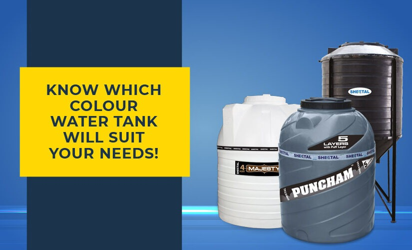 Know which colour water tank will suit your needs!