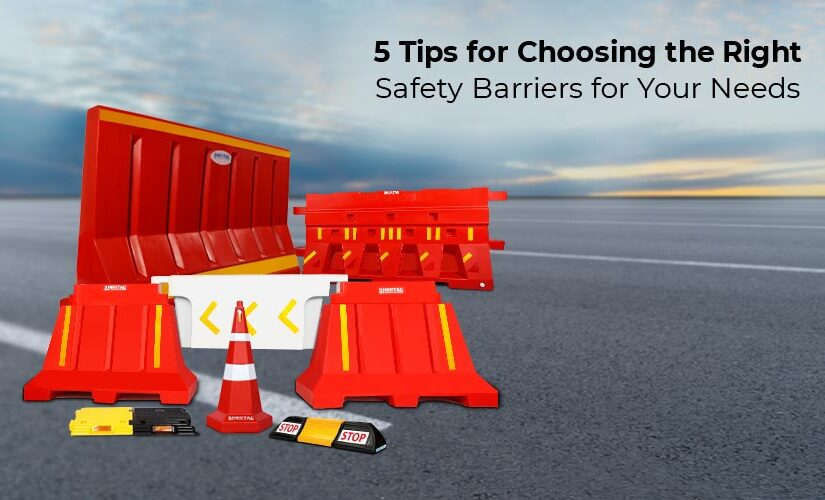 5 tips for choosing the right safety barriers for your needs
