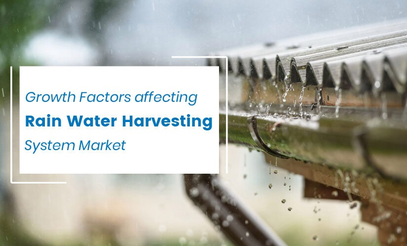 Growth Factors affecting Rain Water Harvesting System Market