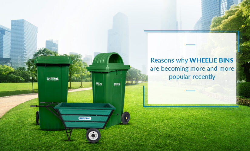 Reasons why wheelie bins are becoming more and more popular recently