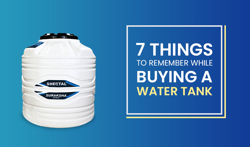 Tips to use pvc water tank