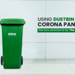 using dustbin during pandemic