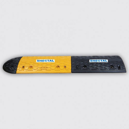 Speed Breaker Rubber M8 - Road Barriers for Safety  - The Sheetal Group