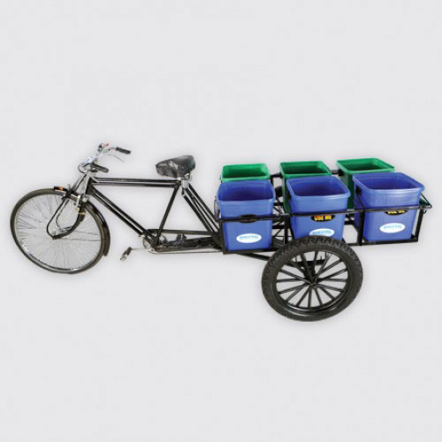 Multipot Rickshaw | Solid waste|The Sheetal Group