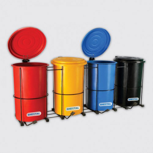 Round Foot Bin - SOLID WASTE MANAGEMENT