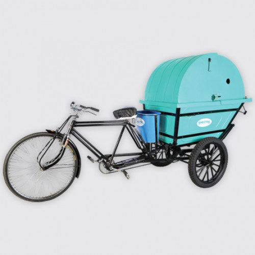 Oval Rickshaw - SOLID WASTE MANAGEMENT