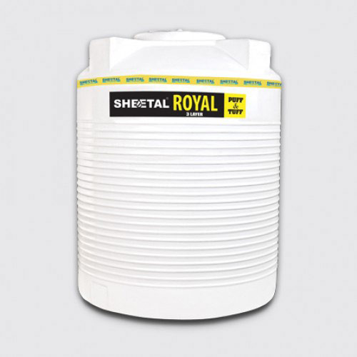 Royal Puff - Best Water Storage Tanks in India - The Sheetal Group