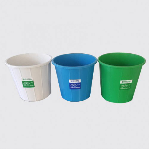 Swachh Bharat 15 Litres Waste Containers - Pack of 3 - SOLID WASTE MANAGEMENT