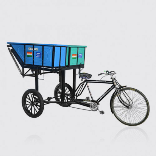 Double Pot Rickshaw | Solid Waste| The Sheetal Group