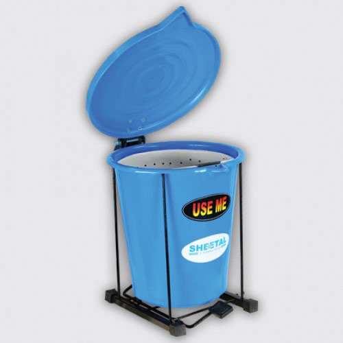 Footbin with Treatment Bucket - Solid Waste Management Bins  - The Sheetal Group