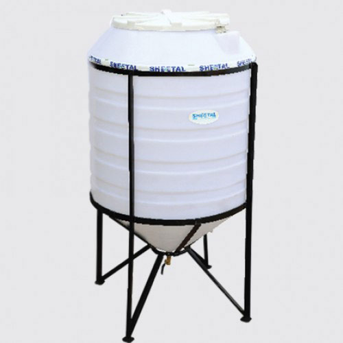 Conical Chemical Tank - Best Chemical Storage Tanks in India - The Sheetal Group