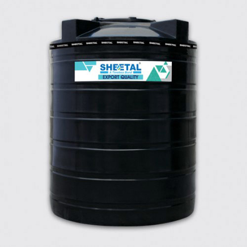Black Export Quality - Best Water/Chemical Storage Tanks in India - The Sheetal Group