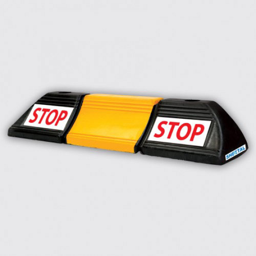 Wheel Stopper M1   Road Safety  The Sheetal Group
