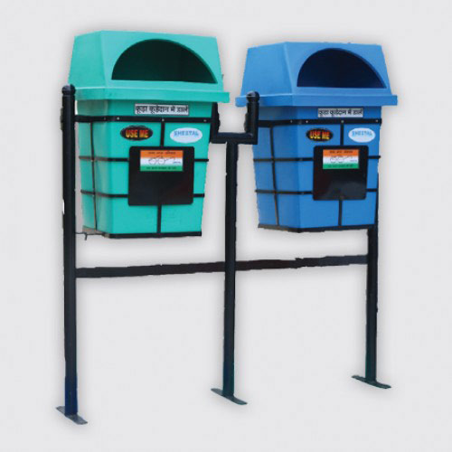DG Floor Mounted Bin - Solid Waste Management  - The Sheetal Group