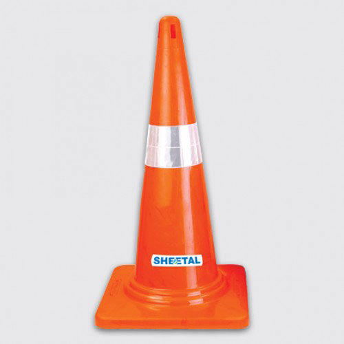 Traffic Cone-I - Road Barriers for Safety  - The Sheetal Group