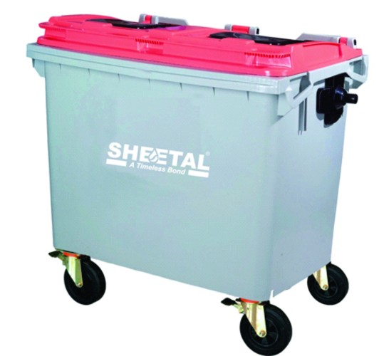 Garbage Container 660L - SOLID WASTE MANAGEMENT