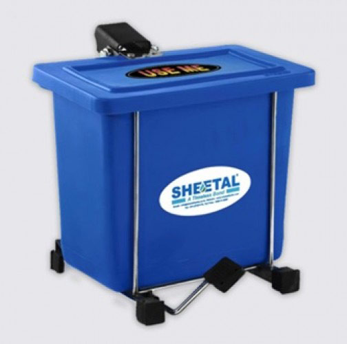 Rectangle Foot Bin - Solid Waste Management Bins  - The Sheetal Group
