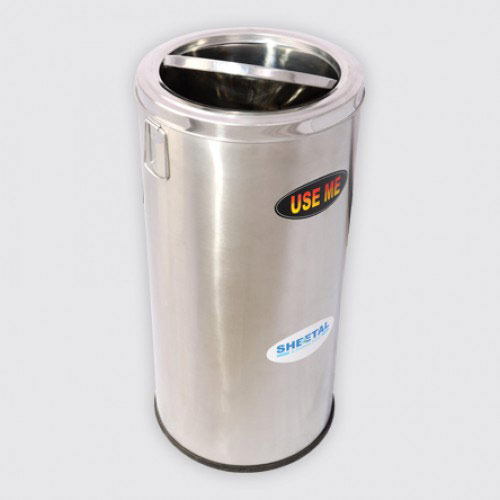 Swing Lid SS Bin | Solid waste|The Sheetal Group