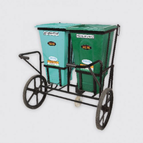 Double Port Hand Cart - Solid Waste Management  - The Sheetal Group