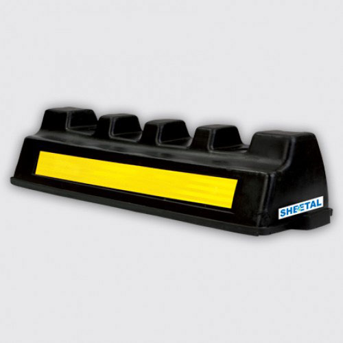 Wheel Stopper M3 | Road Safety |The Sheetal Group