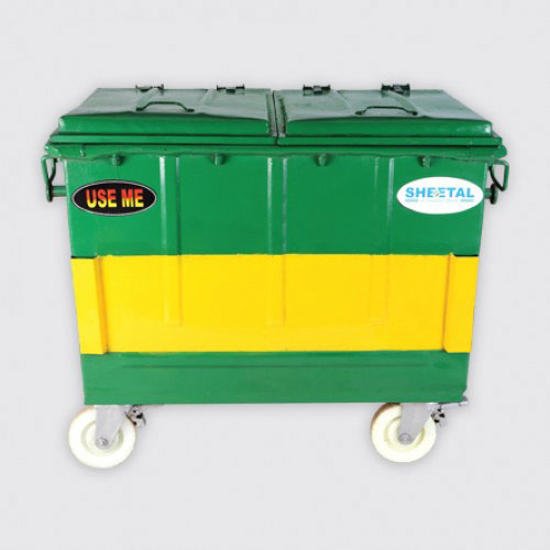 MS Mobile Bin - Solid Waste Management  - The Sheetal Group